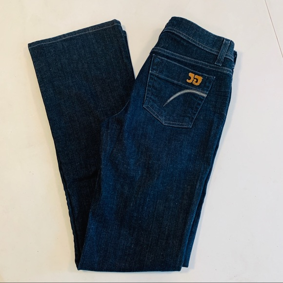 Joe's Jeans Denim - Joe's Jeans Womens Boot Cut Blue Dark Wash Denim